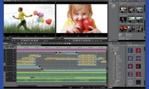 動画編集ソフトの操作画面のイメージ